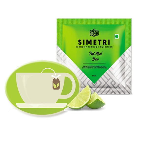 SIMETRI GREEN TEA - Post Meal Brew For Weight Loss