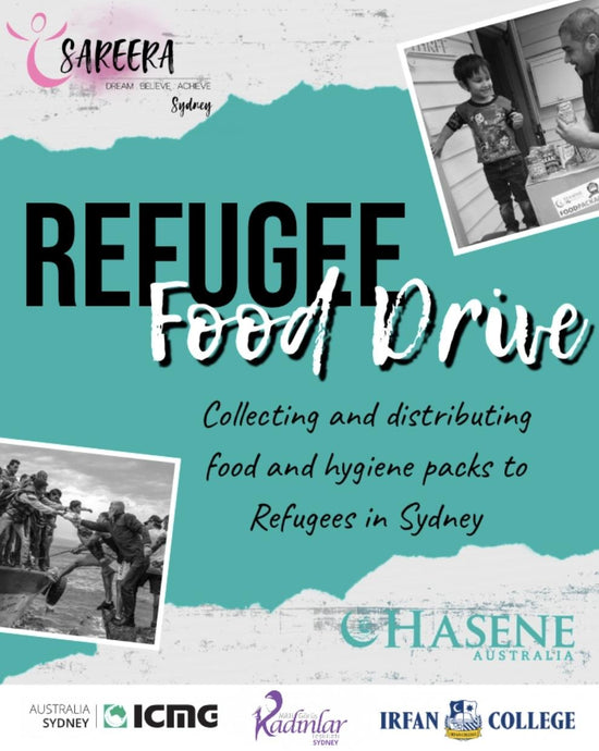 Second Annual Refugee Food Drive is here!