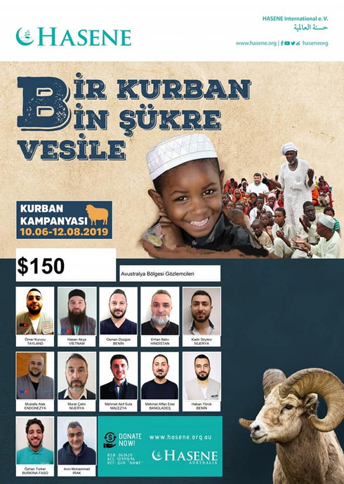 Meet our Qurban volunteers who will help deliver your Qurban packages