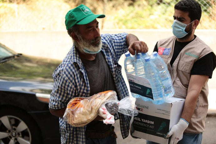Hasene Delivers Aid to the Lebanese People