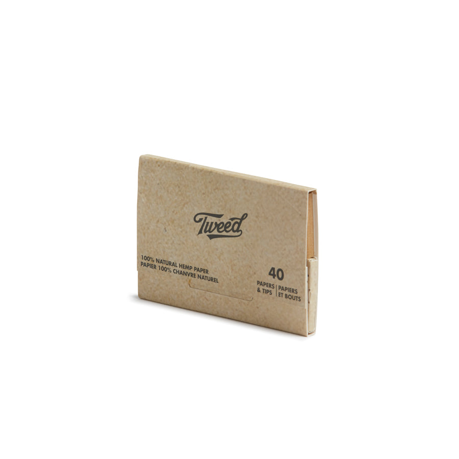 Tweed 1 1/4 Rolling Papers - Hemp