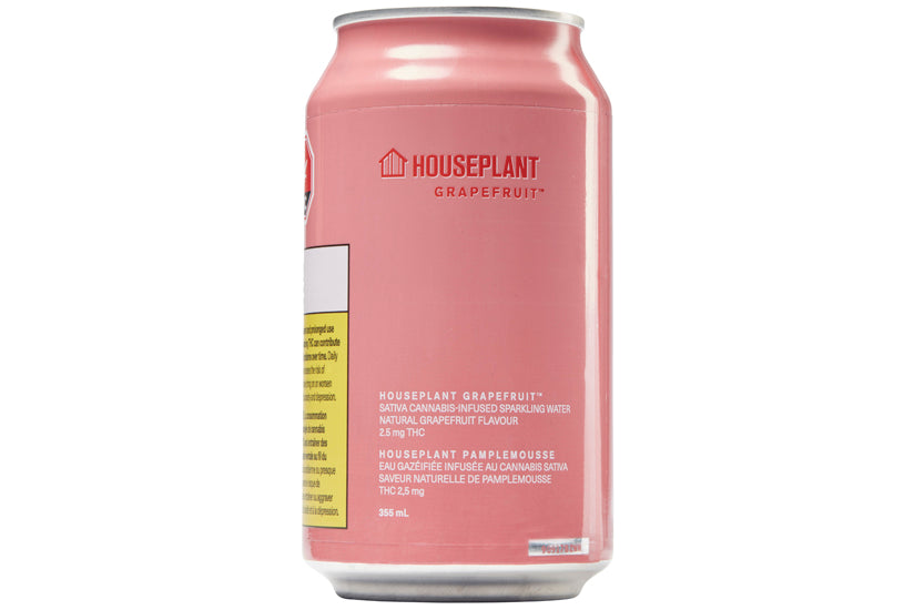 Houseplant Grapefruit Carbonated Infused Sparkling Drink