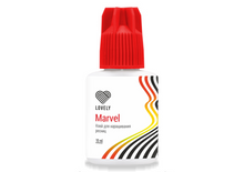 "Load image into Gallery viewer, Black Adhesive Lovely ""Marvel"" 5 ml"