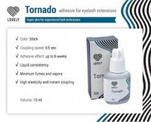 "Load image into Gallery viewer, Black Adhesive Lovely ""Tornado"" 10 Ml"