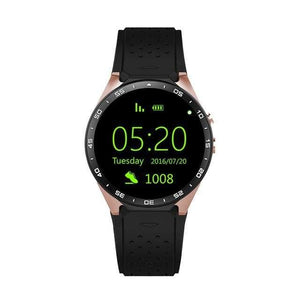 All Lcd Android Smart Watch Kw88 - Gold Black - Android