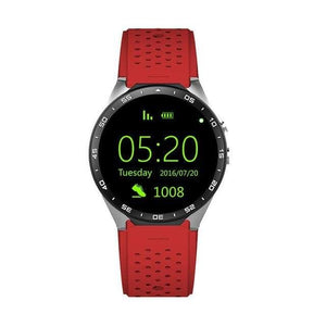 All Lcd Android Smart Watch Kw88 - Red - Android