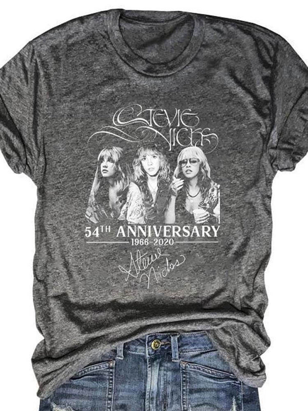 Stevie Nicks 54th Anniversary 1966-2020 Tee