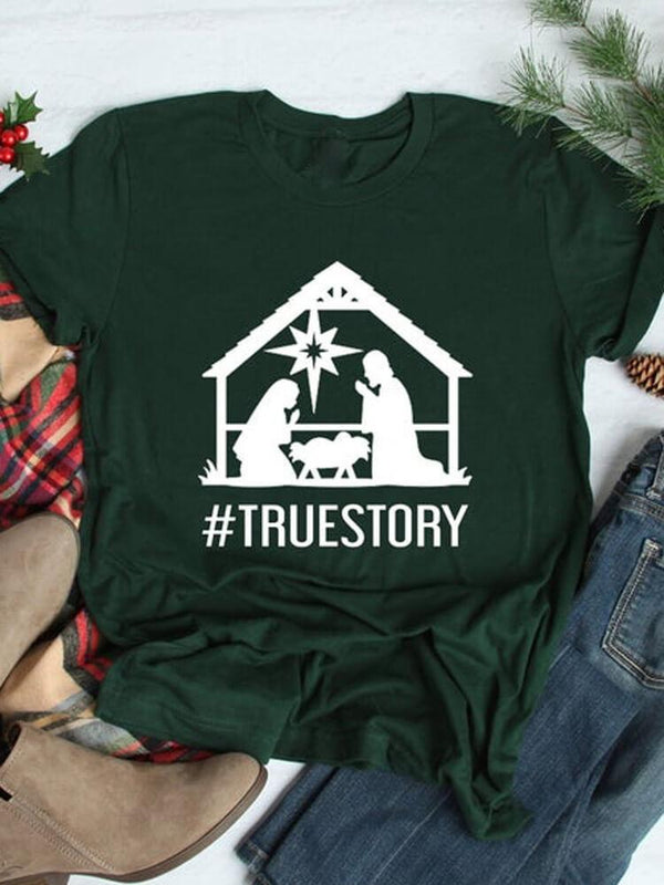 True Story of The Baby Faith Tee