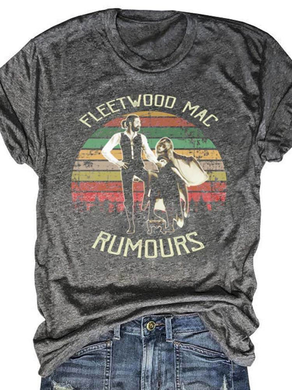 Fleetwood Mac Rumours Stevie Nicks Tee