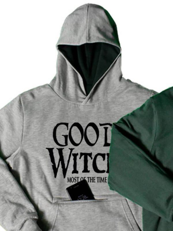 Bad Witch Good Witch Reversible Hoodie