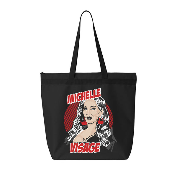 FILM NOIR BLACK TOTE BAG