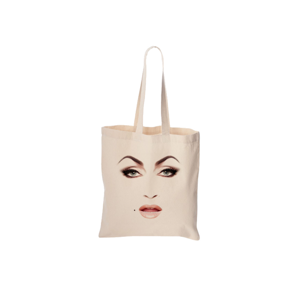 FACE NATURAL TOTE BAG