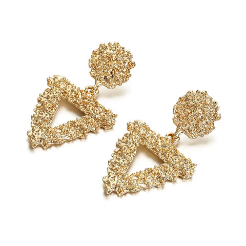 Triangle Drop - Statement Studs