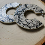 Load image into Gallery viewer, Sandra Snake Print Earrings