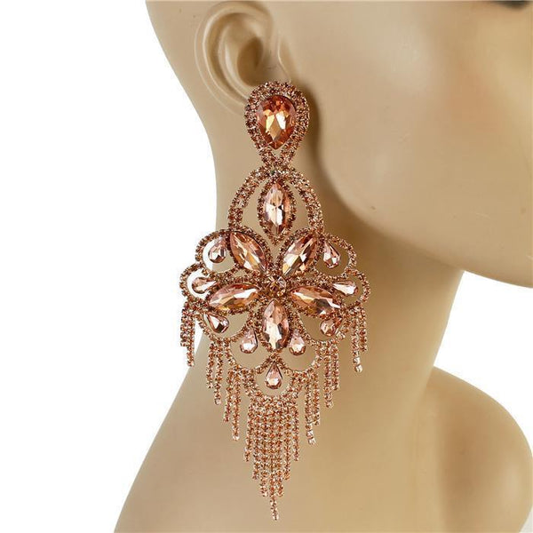 Nina Drama Chandelier Earrings
