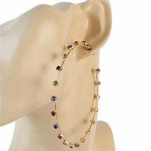 Braea ~ Multicolored Hoops