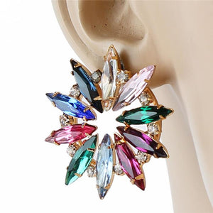 Glam Color Wheel Studs