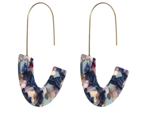 Berry Blue Truffle Earrings