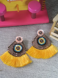 Malaise Fringe Earrings