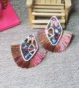 Latifah Fringe Earrings