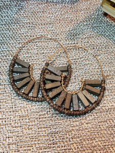 Melinda Wood Earrings