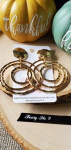 Sol Multi Circle Clip-On Earrings
