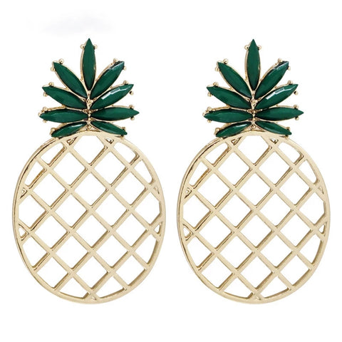 KIia Pineapple Stud Earrings