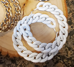 Load image into Gallery viewer, Hoops Chain Earrings