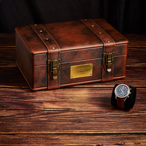 Luxury Leather Storage Watch collection Box