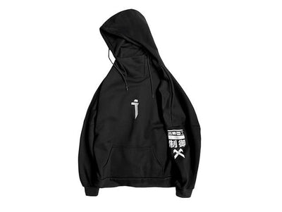 11 BYBB'S DARK Harajuku Hoodie Men Embroidery Print Hip Hop Streetwear Hoodie Sweatshirt Man Cotton Tops Pullover Fleece Outwear Streetwear Clothing Raikago