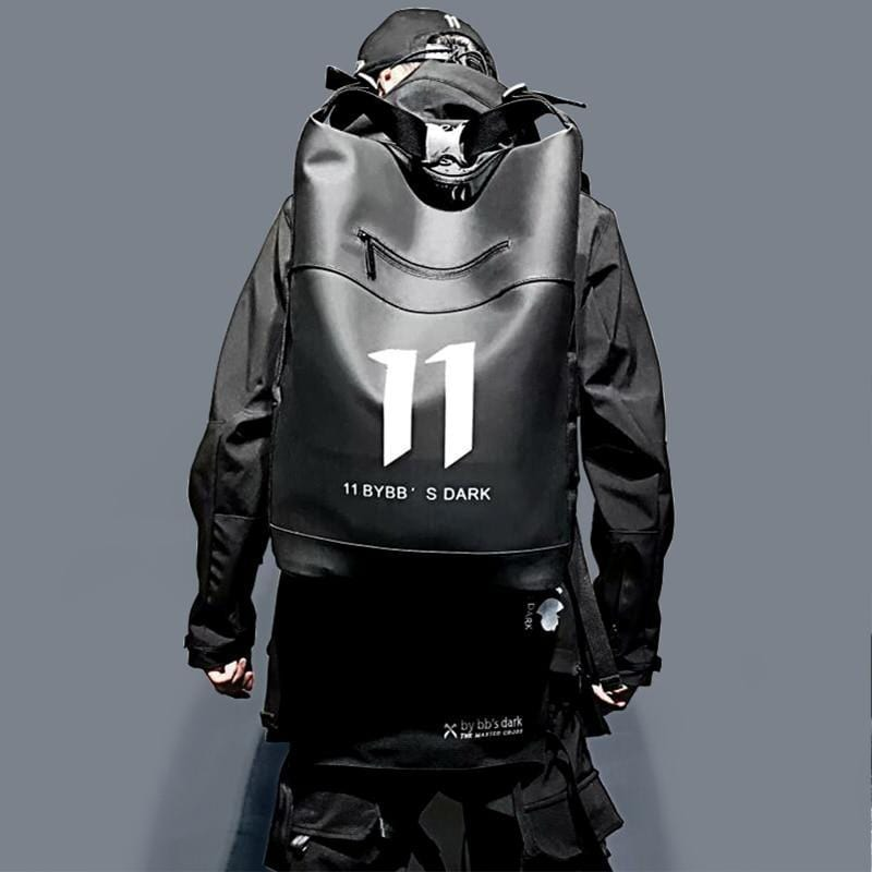 """11 "" Techwear backpack"