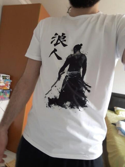 Armored Samurai T-Shirt Streetwear Clothing Raikago