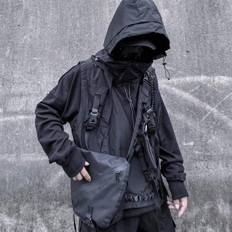 """Aviator"" Techwear Vest Jacket"