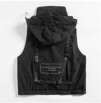 Aviator Vest Jacket Streetwear Clothing Raikago