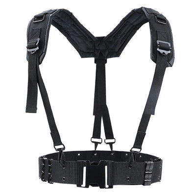 Black Chest Harness Streetwear Clothing Raikago