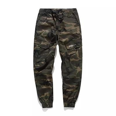 Camo joggers Tactical wear Streetwear Clothing Raikago