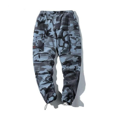 Camouflage Joggers  Long Pants Men Streetwear Clothing Raikago