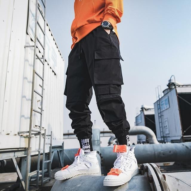 Casual Cargo Pants For Men and Women Streetwear Clothing Raikago
