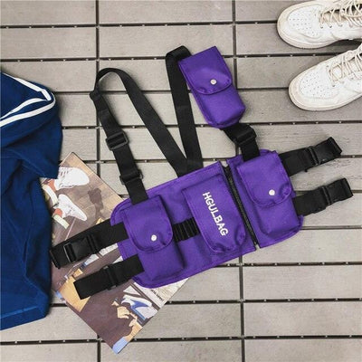 Chest Rig Bag Streetwear Clothing Raikago