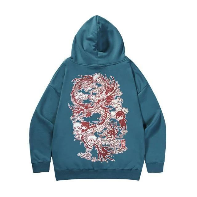 Chinese style Dragon Streetwear Clothing Raikago