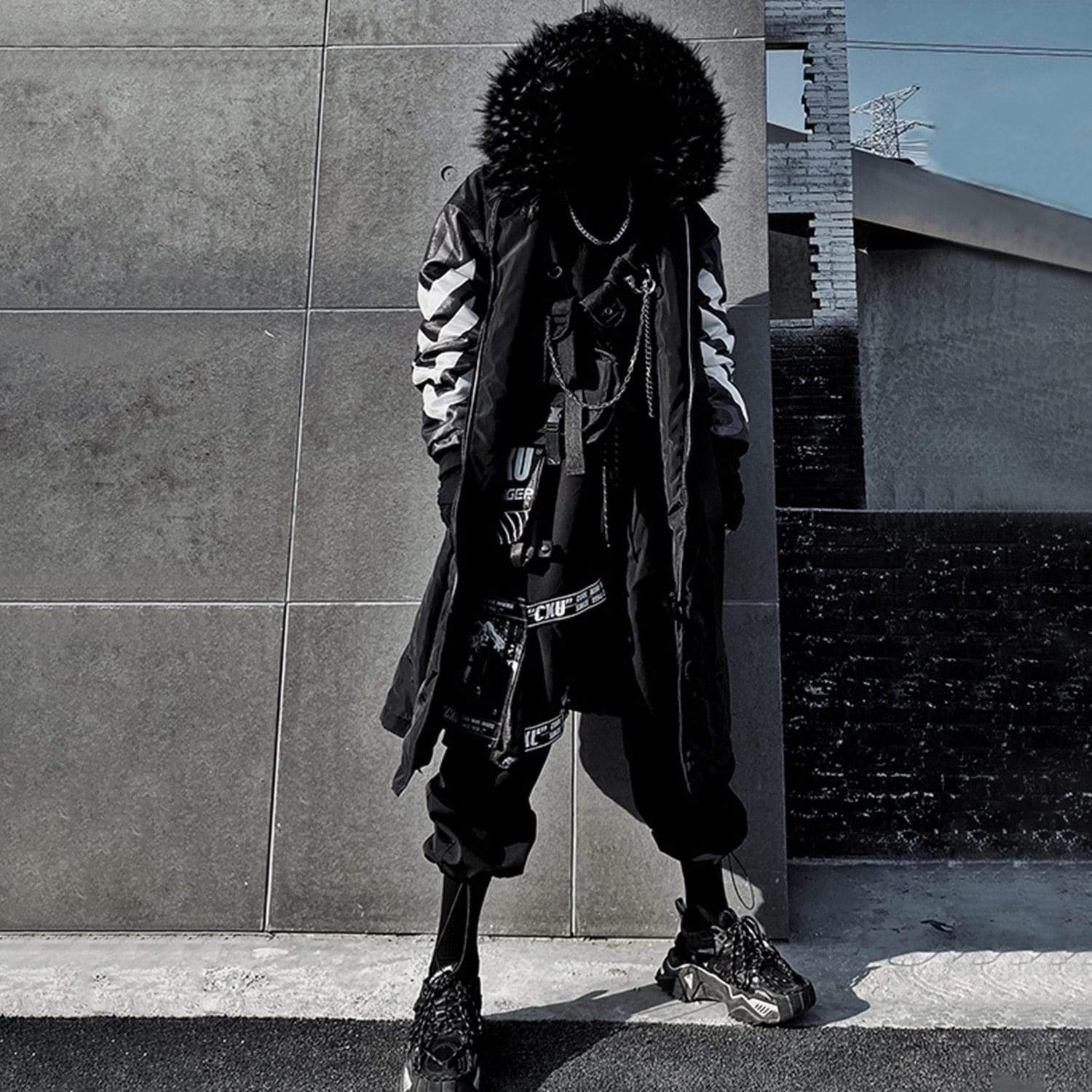 """CXU"" Streetwear Winter Coat"
