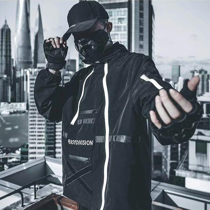 DARK BYB-Techwear Jacket