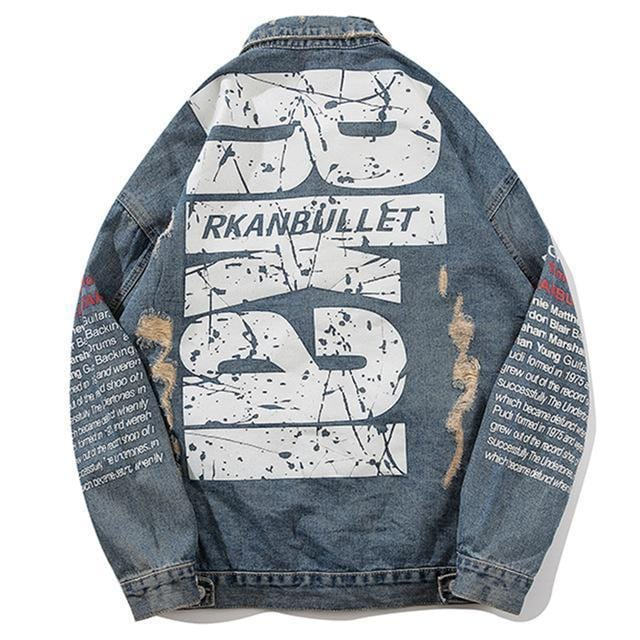 """Rkai"" Denim Jean Jackets"