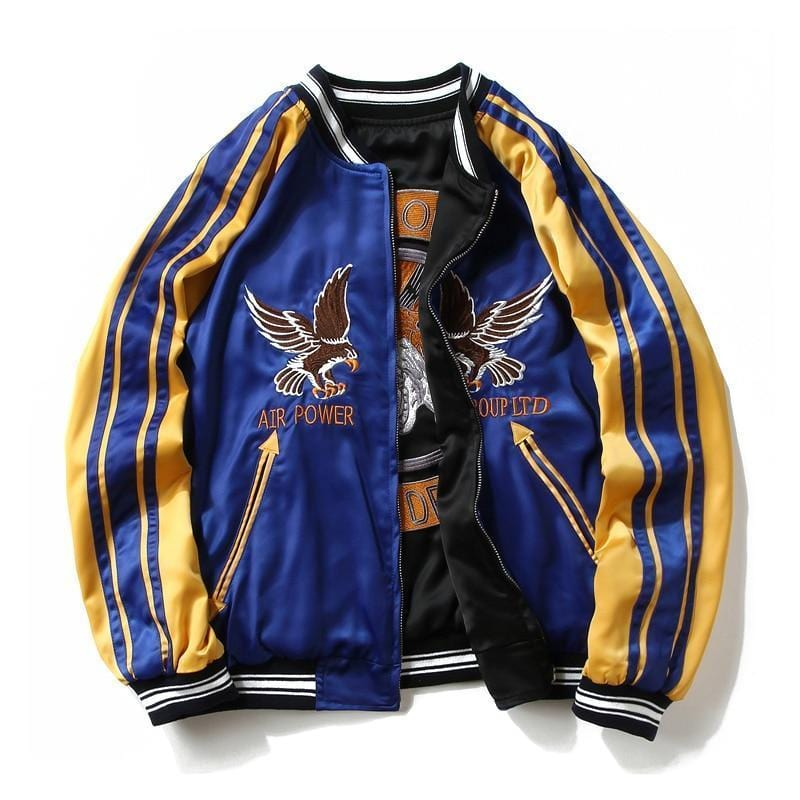 Double sided Souvenir Jacket Streetwear Clothing Raikago