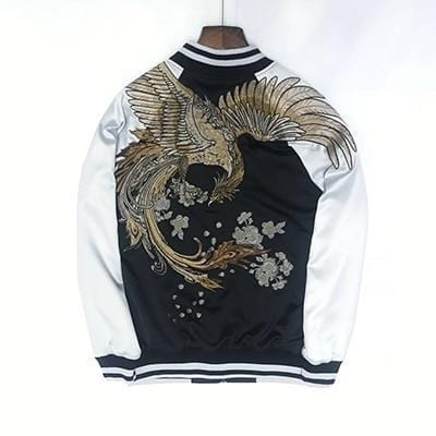 Embroidered Sukajan Streetwear Clothing Raikago