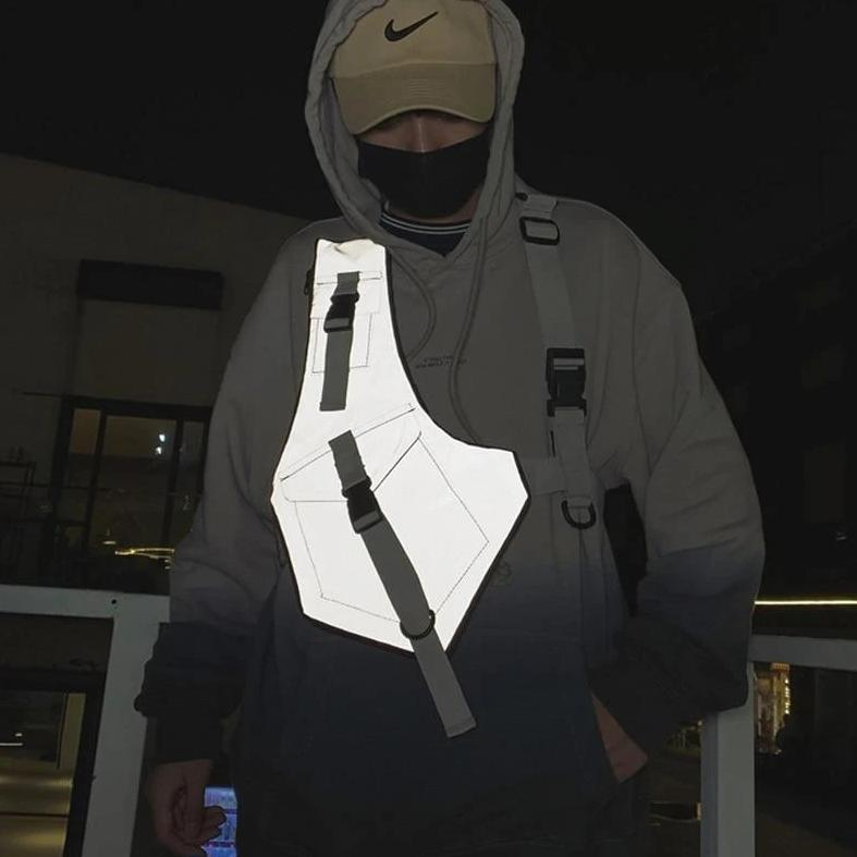 Futuristic Techwear Chest pack