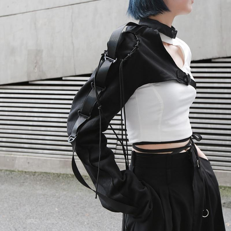 Futuristic Techwear Shoulder Accessory