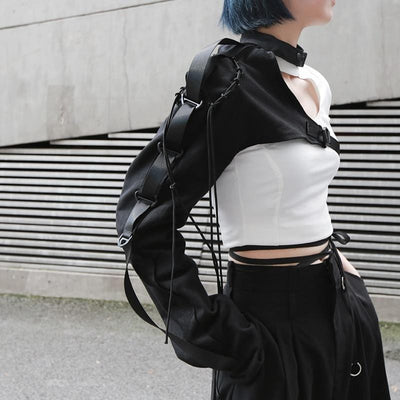 Futuristic Techwear shoulder accessory Streetwear Clothing Raikago