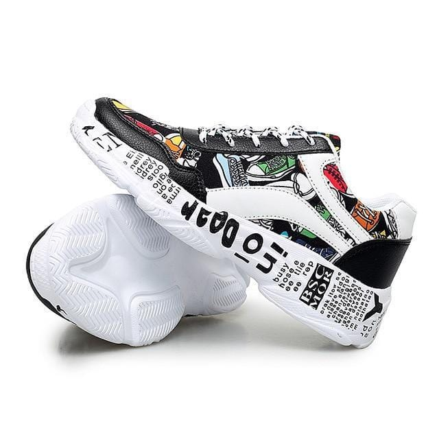 """Graffiti"" Women's Sneakers"