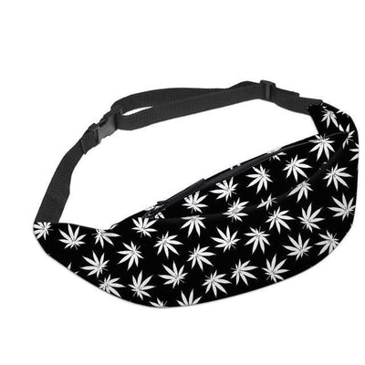 Green leaves Fanny Pack Streetwear Clothing Raikago